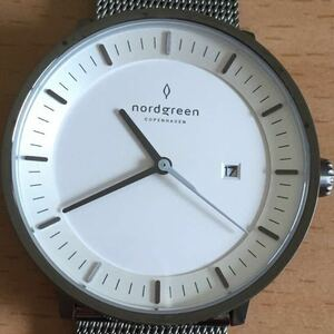 888-0251 nordgreen ノードグリーン COPENHAGEN philosopher メンズ レディース 腕時計 金属ベルト クオーツ D3005672 稼働品