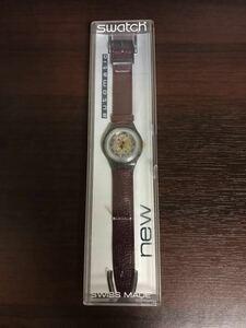 871-0816 SWATCH スウォッチ 腕時計 automatic オートマチック 自動巻き 革ベルト 1991 稼働品