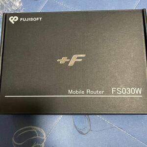 モバイルルーターFS030W