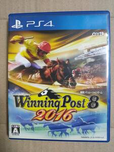 PS4 ウイニングポスト8 2016 Winning Post 即決 送料込み