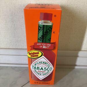 TABASCO タバスコ オリジナルペッパーソース 355ml