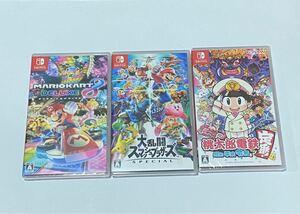 Nintendo Switch ソフト3本 新品未開封 当日発送