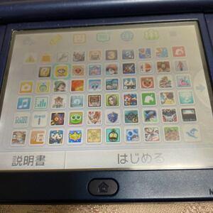 new 3ds ll 内蔵ソフト多数!sdカード64GB!!