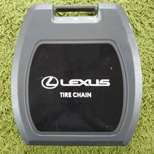 レクサスLS 純正オプション タイヤチェーン(合金鋼タイプ)