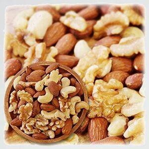 新品 目玉 3種類 ミックスナッツ H-W5 3G CARE 1kg 徳用 生くるみ 40% ア-モンド 40% カシュ-ナッツ 20% 素焼き オイル不使用 無塩