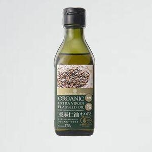 新品 目玉 エキストラ JASオ-ガニック認定 3-YU flaxseed oil バ-ジン フラックスシ-ドオイル 有機 亜麻仁油 170g 1本 organic extra
