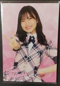 福岡聖菜 AKB48 WORLD 当選品 フォトカード ヤフオク専用出品 転載厳禁
