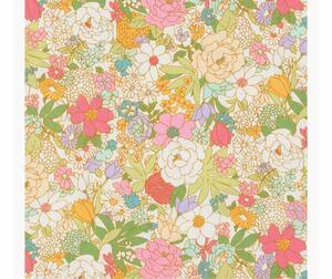 生地 ブロード 花柄(ナチュラル)50cm ×107cm コスモテキスタイル 日本製