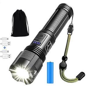 懐中電灯 led 強力 軍用 最強 超高輝度5000ルーメン アウトドア