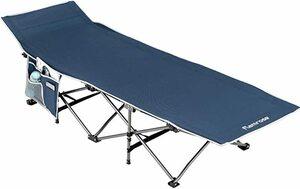 折り畳み キャンプ レジャー ベンチ コット アウトドアベッド 耐荷重120kg