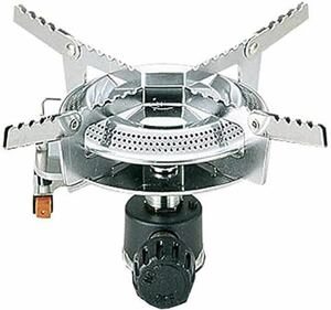 CAPTAIN STAG オーリック 小型ガスバーナーコンロ 圧電点火装置付(ケース付)M-7900