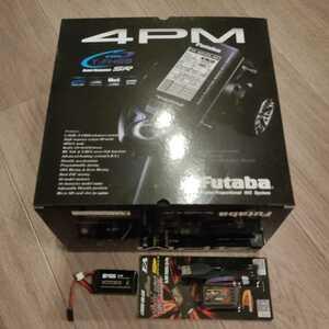 フタバ Futaba 4PM double receivers T/WR SET バッテリー、充電器付 新品未使用
