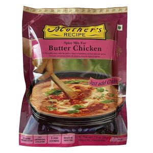 o カレーペースト バターチキン 100g Mother's Recipe簡単 鶏肉と牛乳・バターが要ります インド産 賞味期限2022.6.23