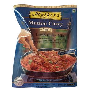 o カレーペースト マトンカレー 100g Mother's Recipe簡単 最近人気のジビエ肉などでも インド産 賞味期限2022.6.26