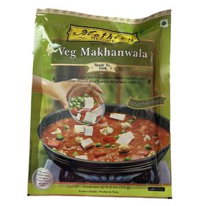 o カレーペースト マカンワラ野菜カレー 75g Mother's Recipeパニールは牛乳とレモン汁で簡単に出来ます インド産 賞味期限2022.6.23