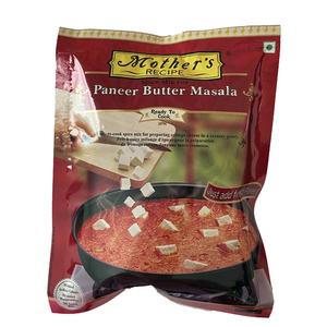 o カレーペースト パニールバター 75g Mother's Recipeパニールは牛乳とレモン汁で簡単に出来ます インド産 賞味期限2022.6.23