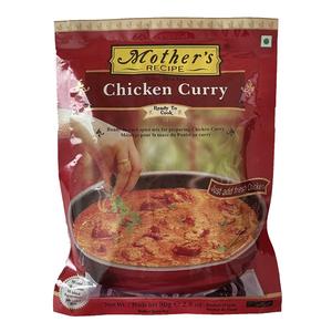 カレーペースト チキンカレー 80g Mother's Recipe鶏肉があれば簡単に出来ます 本格派インドカレー インド産 賞味期限2022.6.23