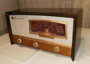 レストア済み 東芝 マツダ 513G 真空管ラジオ 整備済 修理済 良好動作品