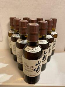 山崎 シングルモルトウイスキー ノンビンテージ サントリー サントリー山崎 NV 180ML10本セット