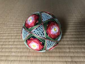 「松本てまり」の様式で作ったオリジナル手毬 伝統ある手工芸品の維持継承を目指す。