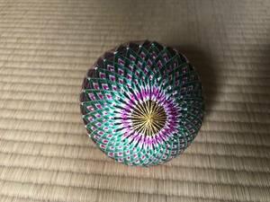 「松本てまり」の様式で作ったオリジナル手毬 伝統ある手工芸品の維持継承を目指す。其二