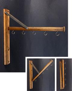 1920's アメリカ 木製 アンティーク ハンガーラック/ハンガーラック/アドバタイジング/店舗什器/ビンテージ/照明/ランプ/o.c.white/gras