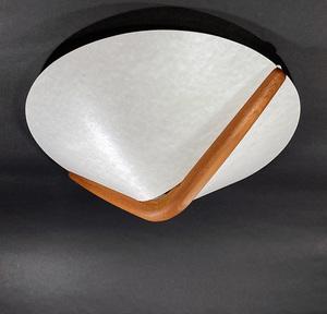 レア DOMUS ドイツ ドムス チーク シーリング ライト/ テーブル/モダン/照明/ビンテージ/ヤマギワ/北欧/デンマーク/ランプ/gras/ダニッシュ