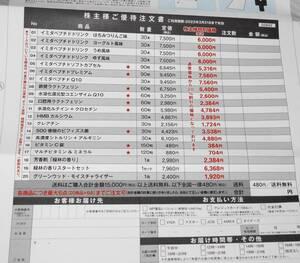 イミダペプチド割引 総医研 株主優待 日本予防医薬 1円~ 2022年3月31日迄