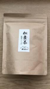 定形外送料込 新品 松葉茶(煎茶ブレンド)5g×20P 国産 野生の松葉 赤松 無添加 茶三代一