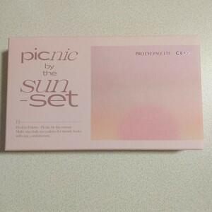 アイシャドウ 夕焼けピクニック 13【新品】クリオ CLIO アイシャドウパレット