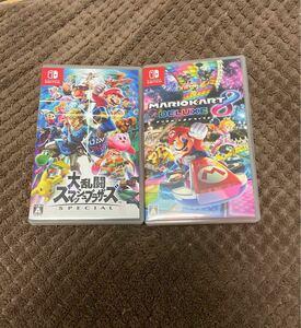 マリオカート8デラックス 大乱闘スマッシュブラザーズ Nintendo Switch ニンテンドースイッチソフト スマブラ マリカ