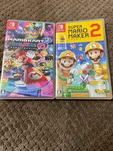 スーパーマリオメーカー2 マリオカート8 デラックス Nintendo Switch ニンテンドースイッチ