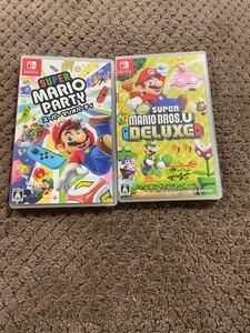 スーパーマリオパーティ New スーパーマリオブラザーズ U デラックス ニンテンドースイッチ Nintendo Switch