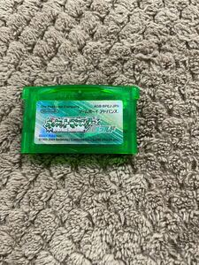 ポケットモンスターエメラルド ポケモン GBA ゲームボーイアドバンス ソフト