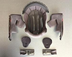 SHOEI ショウエイ GT-Air2 ジーティーエアー2 内装セット XL ヘルメットインナー