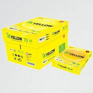 新品 目玉 高白色 APP Y-YV 紙厚0.101mm 450枚 コピ-用紙 IK Yellow A4 白色度98%