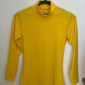 長袖 インナーシャツ DUARIG Mサイズ イエロー 黄色 長袖Tシャツ