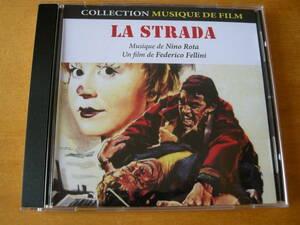 ニーノ・ロータ (NINO ROTA) 映画「道」(LA STRADA) サウンドトラック(RDM EDITION/仏盤)