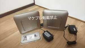 BUFFALO 無線LANルーター WSR-2533DHP 美品 2体