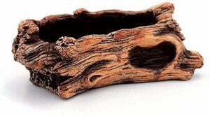 赤 C 流木 多肉植物 鉢 観葉植物の寄せ植えにおしゃれなプランター 自然流木のようなリアルティ (C 赤)