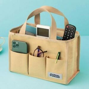 InRed インレッド 2021年 9月号 【付録】 ジャーナルスタンダード ティッシュが取り出せる10ポケットバッグ