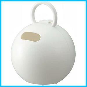 ★カラー:ホワイト★ ライクイット(like-it)収納ケースポイッとボール幅16.3x奥16.3x高20.8cmホワイト日本製PRP-03L