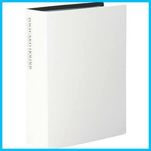 【送料無料-激安】 KP-60PKP-60P-70 ポストカードホルダー ハガキサイズ120枚 ★色:ホワイト★ 101~150枚 SEKISEI F0820 ホワイト アルバム