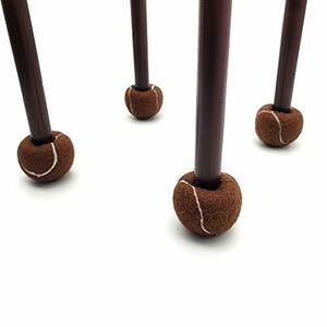 チェアソックス 椅子脚カバー 家具保護パッド フェルトキズ防止・防音 最新 厚いタイプ ボールタイプ 椅子足カバー