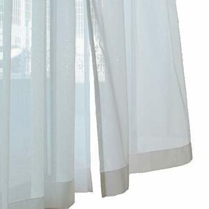 日本製あったか高機能ミラーレースカーテン(UVカット・遮熱・遮像・ウォッシャブル) UE-F1 (巾100cm-丈176cm