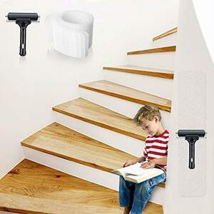 階段 滑り止め スリップ防止テープ 階段マット 屋内・屋外 転倒防止対策に PEVA製 透明 強粘着力 巻60cm*幅10cm 自由カット
