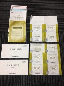 JR九州 株主優待券 17枚+金券 4,500円+高速船 福岡ー釜山 往復 10,000円券