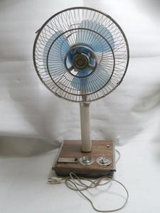 【完全ジャンク】◆ 日立 HITACI◆ 扇風機 H-608◆ 昭和レトロ アンティーク◆