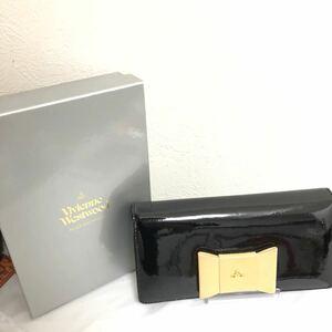 Vivienne Westwood ヴィヴィアンウエストウッド 小物 財布 長財布 二つ折り財布 小銭入れ レディース 箱付き