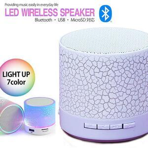 Bluetooth スピーカー おしゃれ かわいい ブルートゥース スピーカー ワイヤレス スピーカー 7988387 ホワイト 新品 1円 スタート